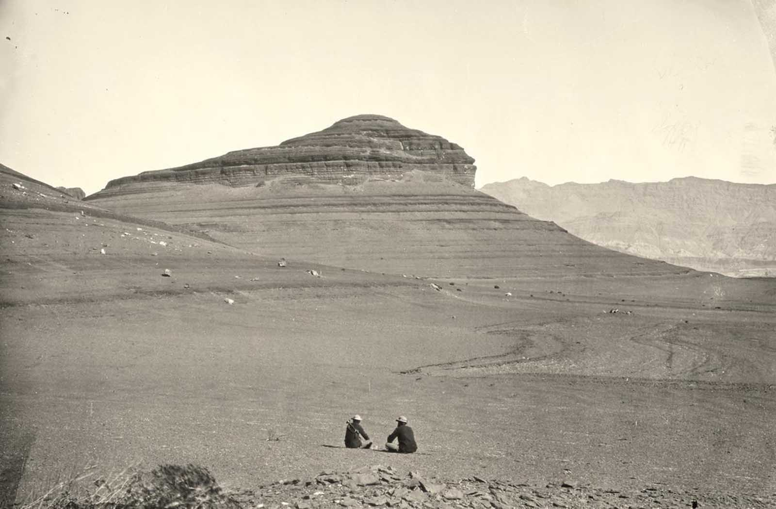 Headlands north of the Colorado River Plateau, 1872.