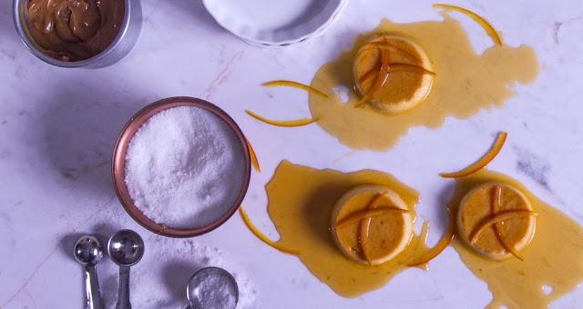 Κρέμα καραμελέ με πορτοκάλι