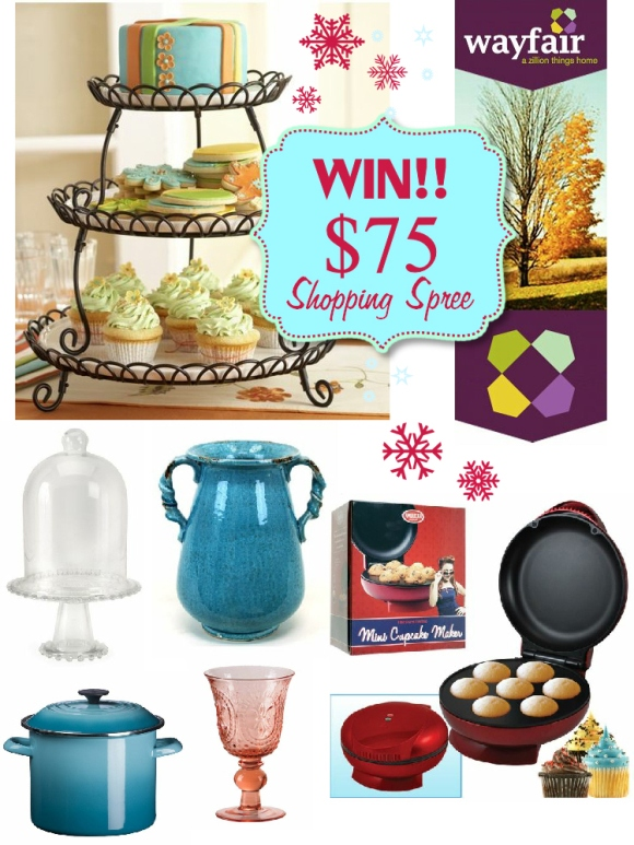 Giveaway | $75 Shopping Spree at Wayfair