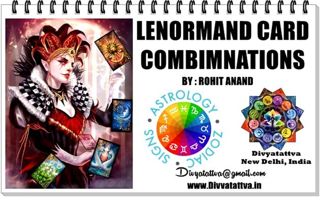 Lenormand Cross Oracle Card Combinations Meaning and Keywords : Card 36