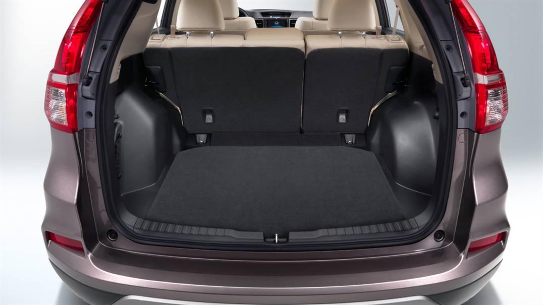 Honda CR-V 2016 sẽ chở được rất nhiều hành lý khi cần thiết