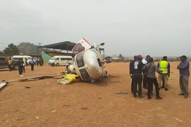Nigeria Vice President Osibanjo survives chopper crash in Kogi