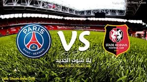 باريس سان جيرمان يسقد فى الجولة الثانيه من الدوري الفرنسي امام نادي رين انتهت المباراة بنتيجة هدفين لهدف