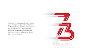 Download Logo Panduan HUT RI ke 73 Tahun 2020 Lengkap