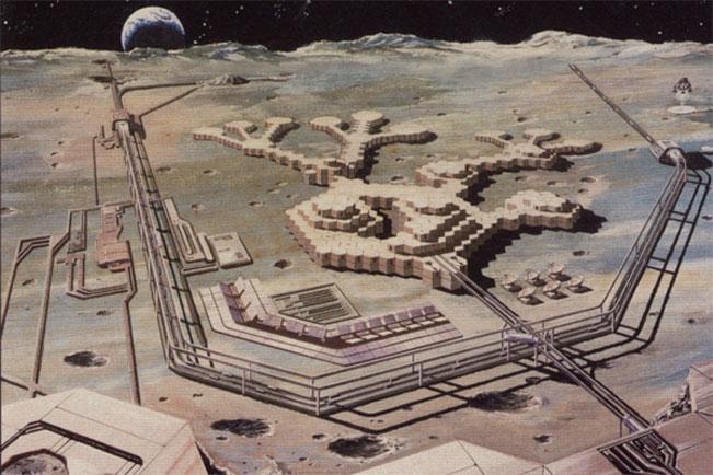 lunar space colony - photo #20