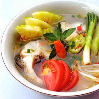 Món ăn ngon: canh chua cá lóc