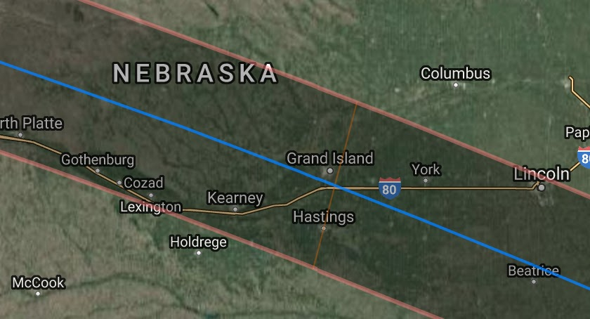 Althouse Let S Take A Close Look At The Path Of That Total Eclipse