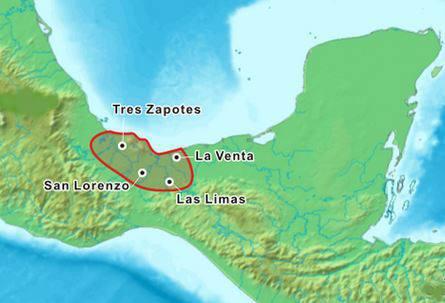 area de desarrollo de la cultura olmeca