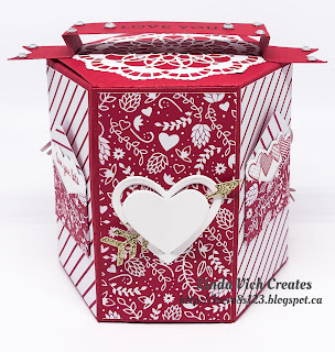 Linda Vich Creates: Valentine Collection. Several valentine projects that use a host of die sets to create lovely boxes and a card.