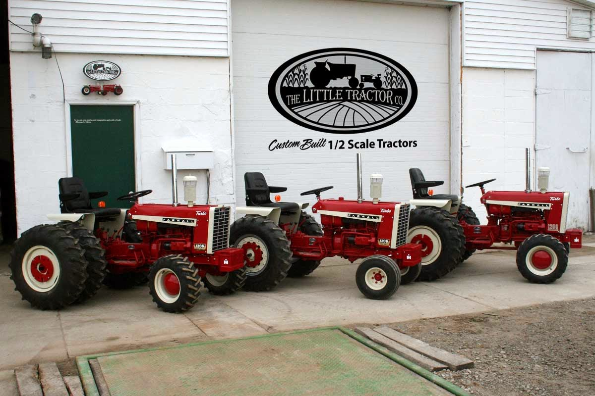 Show home build gas powered mini tractors - Hello I Thought I D Address A Few Questions About These Custom Hand Made Half Scale Tractors When You Reach The Bottom Of This Page Be Sure To Click