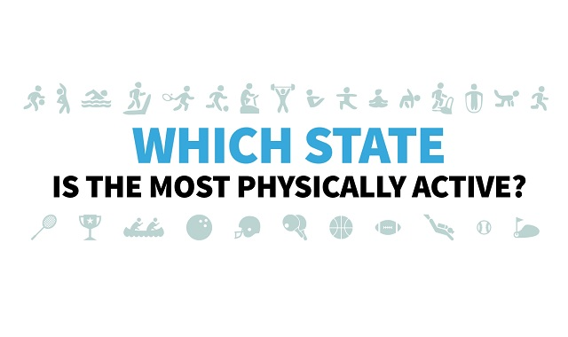 These Maps Show Which States Are the Most Physically Active
