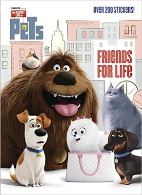 The Secret Life of Pets Sticker Book with 200 stickers makes a great party favor.