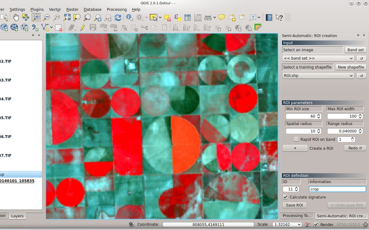 From GIS to Remote Sensing: Semi-Automatic Classification Plugin for