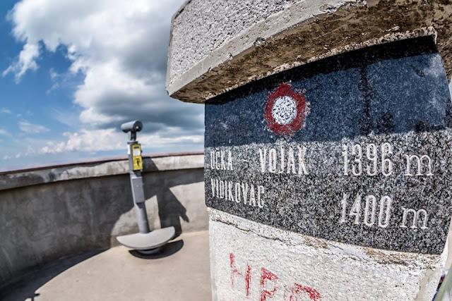 MTB - Monte Vojak - Mountainbike Tour, höchsten Berg von Istrien