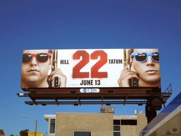 22 Jump Street movie billboard