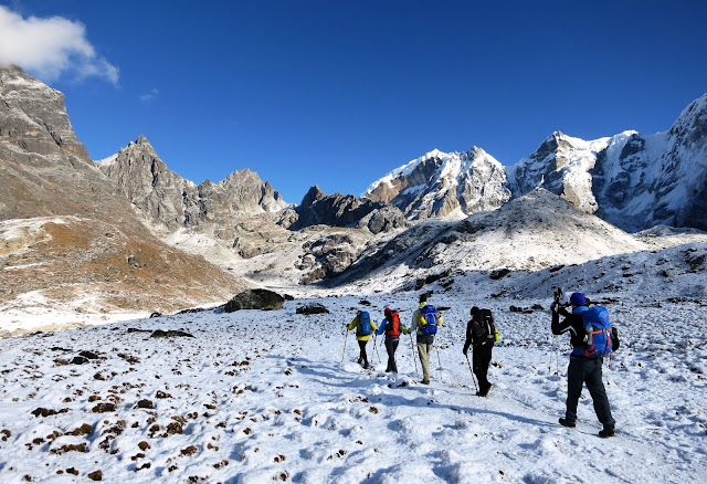 it's a good experience to go for everest base camp trek tour.