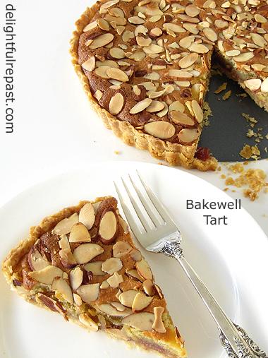 Bakewell Tart - A British Classic / www.delightfulrepast.com