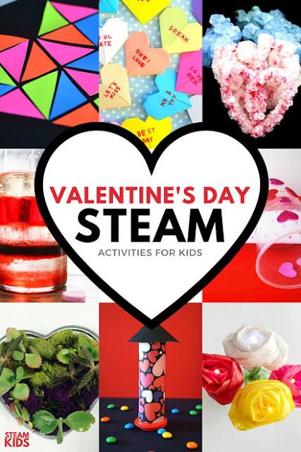 14+ Valentine's Day STEAM activities for kids