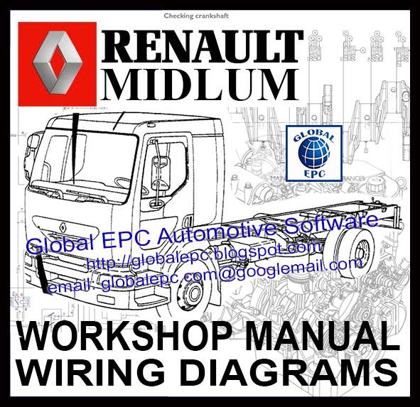renault midlum workshop service manuals and wiring diagrams