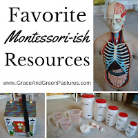 Favorite Montessori-ish Resources