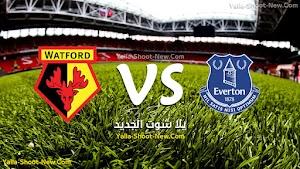 ايفرتون يحقق اول فوز له فى الدوري الانجليزي الممتاز فى المباراة التى انتهت بنتيجة هدف نظيف على فريق واتفورد