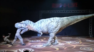 Filmando una escena de Jurassic World El reino caído
