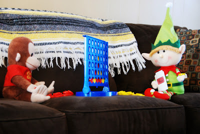 elf on the shelf advent bible study connect four