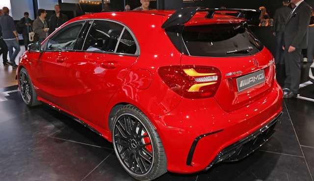2017 Mercedes A45 AMG Review