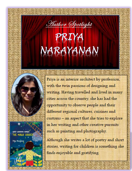 Author Spotlight and interview: Priya Narayanan