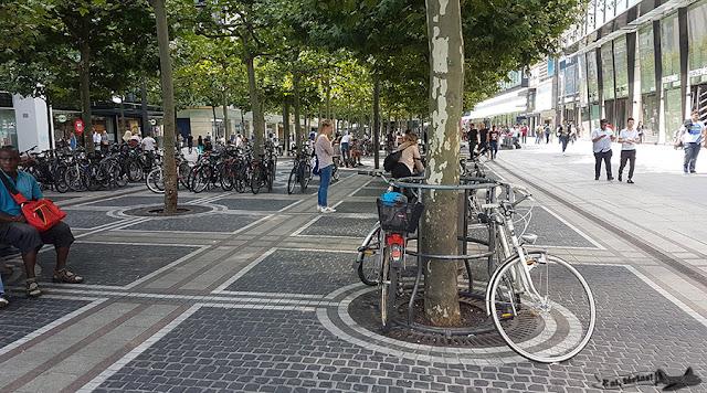 Pelas ruas de Frankfurt