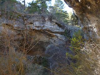 Abrigo en la roca