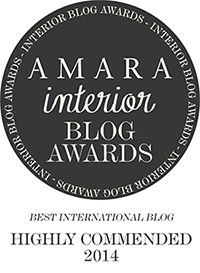 AMARA Interior Blog Awards: Best International Blog Award Highly Commended