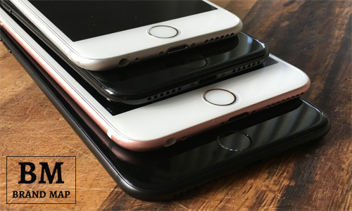 Apple iPhone 7 info about Home Button / Brand Map