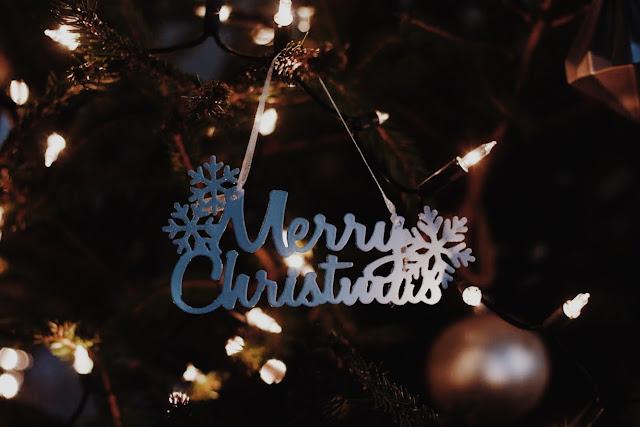 Ozdoba choinkowa Merry Christmas.