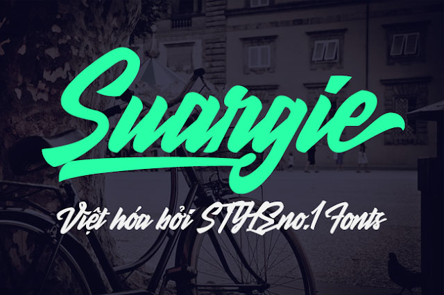 Font Việt hóa SVN-Suargie