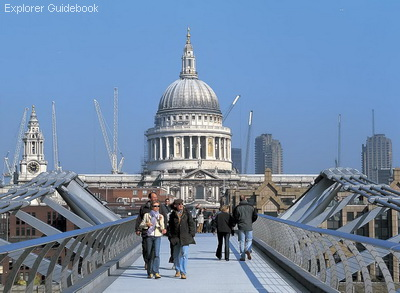 Jembatan Millenium Bridge London