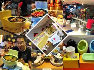 """(Imagen) existe un restaurante temático en Taiwan que ha mezclado ambas necesidades básicas del ser humano, se llama """"Modern Toilet"""", y usa la temática del baño como un sitio para ir a comer"""