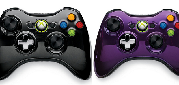 Xbox 360 Special Edition Chrome Series Controllers on the Way