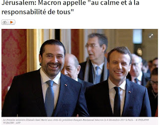"""Macron appelle """"au calme et à la responsabilité de tous"""""""