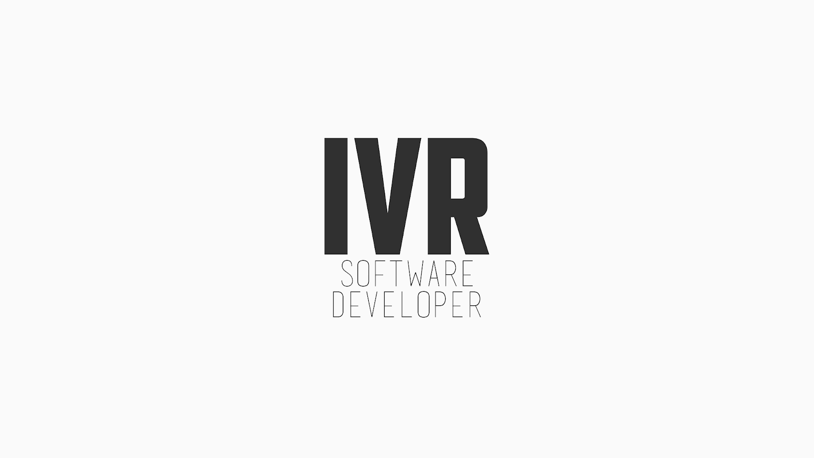 IVR - Software Developer