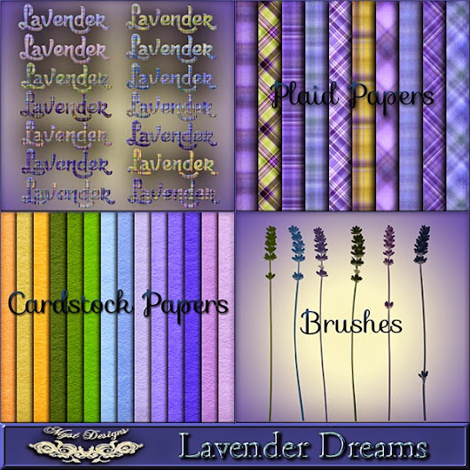 New CU AddOn To the Lavender Dreams Collection