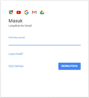 halaman login email gmail