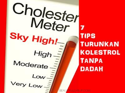 tips turunkan kolestrol