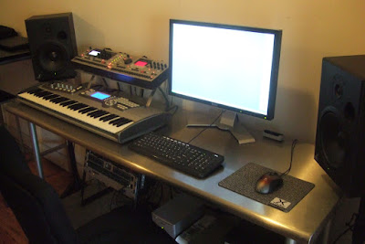 Estudio casero de música digital