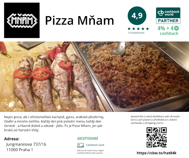 Pizza Mňam - Cashback World