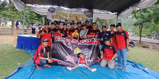 KOPDARGAB HALAL BIHALAL AXCI Kebun Raya Bogor 15 Juli 2018