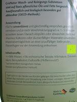 Inhaltsstoffe: GrüNatur Gesundheitsapotheke - Bad-Reiniger
