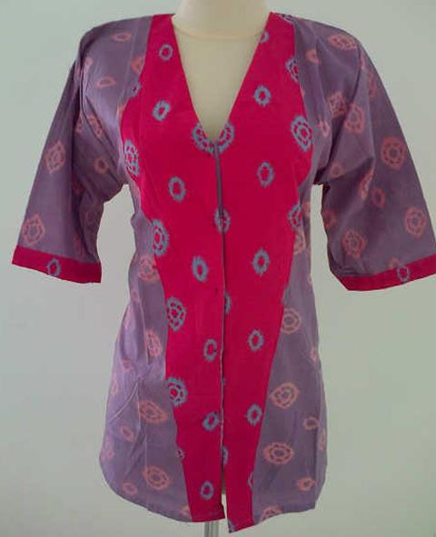 model baju jumputan palembang