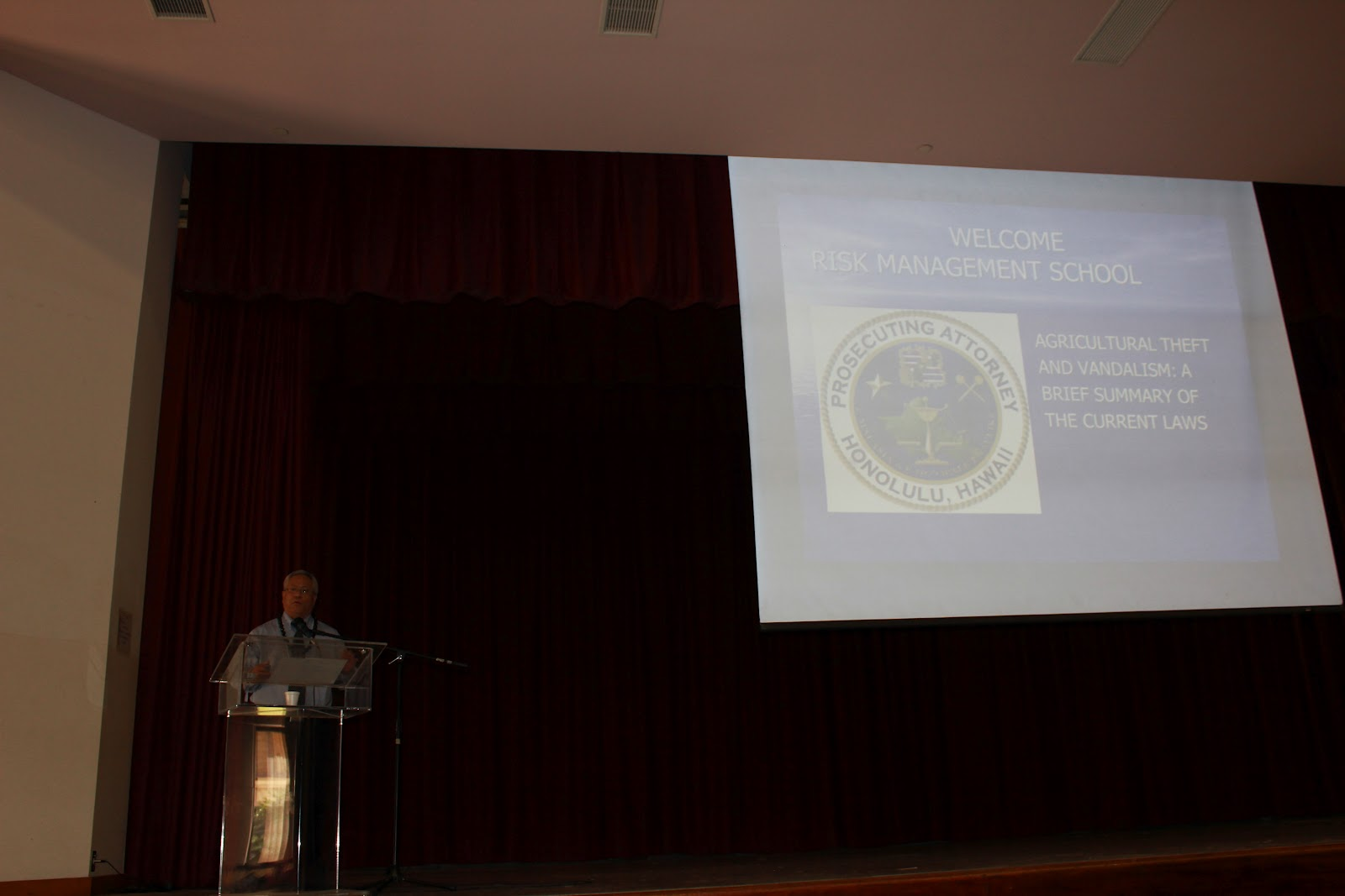 LIFE-CTAHR: Risk Management School-Oahu
