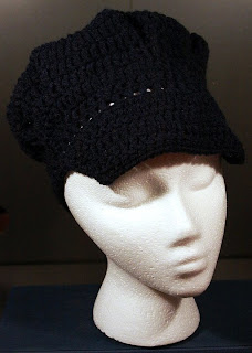 Toppytoppyknits newsboy crochet hat train conductor hat for Conductor hat template